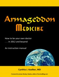 Armageddon Medicine, the book